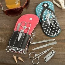 Adorable flip flop design manicure sets - 24 count image 2