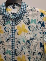 Sleep Sense Sleep & Lounge Butterfly Print Pajama Shirt, Size Large - $17.81