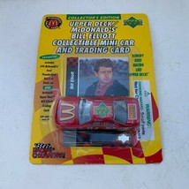 1995 Upper Deck / McDonald's Bill Elliott Collectible Mini Car and Tradi... - $9.70
