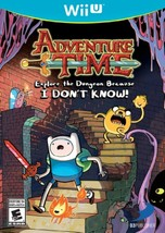 Adventure Time: Explore the Dungeon Because I DON'T KNOW! WiiU - $23.00