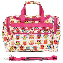 World Traveler 81T16-176  Duffle Bag, One Size, Owl Pink - $36.26
