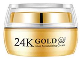 24K Gold Snail Moisturizing Face Cream Hydrating Nourishing Smoothing Fa... - $29.99