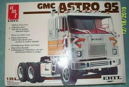 AMT 1:25 GMC Astro 95 COE. Opened & started. - $65.00