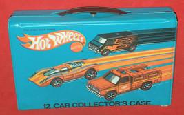 VTG 1975 Mattel Hot Wheels # 4975 12 Car Collectors Case Complete EX Redline USA - $108.90