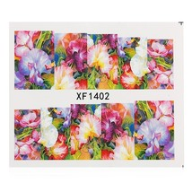 50pcs Flower Nail Decals Art Water Transfer Stickers(#3) - $11.93