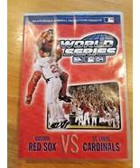 2004 WORLD SERIES DVD BOSTON RED SOX VS ST. LOUIS CARDINALS MLB BASEBALL... - $5.93