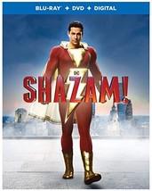 Shazam! (Blu-ray + DVD + Digital + lenticular cover]