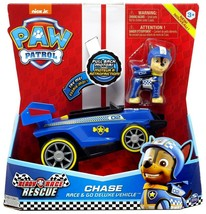 PAW PATROL, Ready, Race, Chase Race & Go Deluxe Vehicle w/ Sound- Blue - $16.99