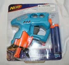 New Nerf Nano Fire 3 Darts Dart Holder Blue Nanofire - $5.93