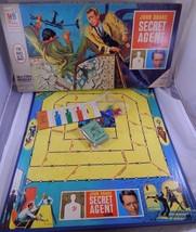 John Drake Secret Agent Board Game 1966 Milton Bradley TV Show Complete ... - $42.03