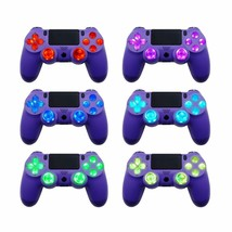 Colored 6-Color D-Pad Thumbsticks DTF LED Kit for Sony Playstation 4 Con... - $24.99