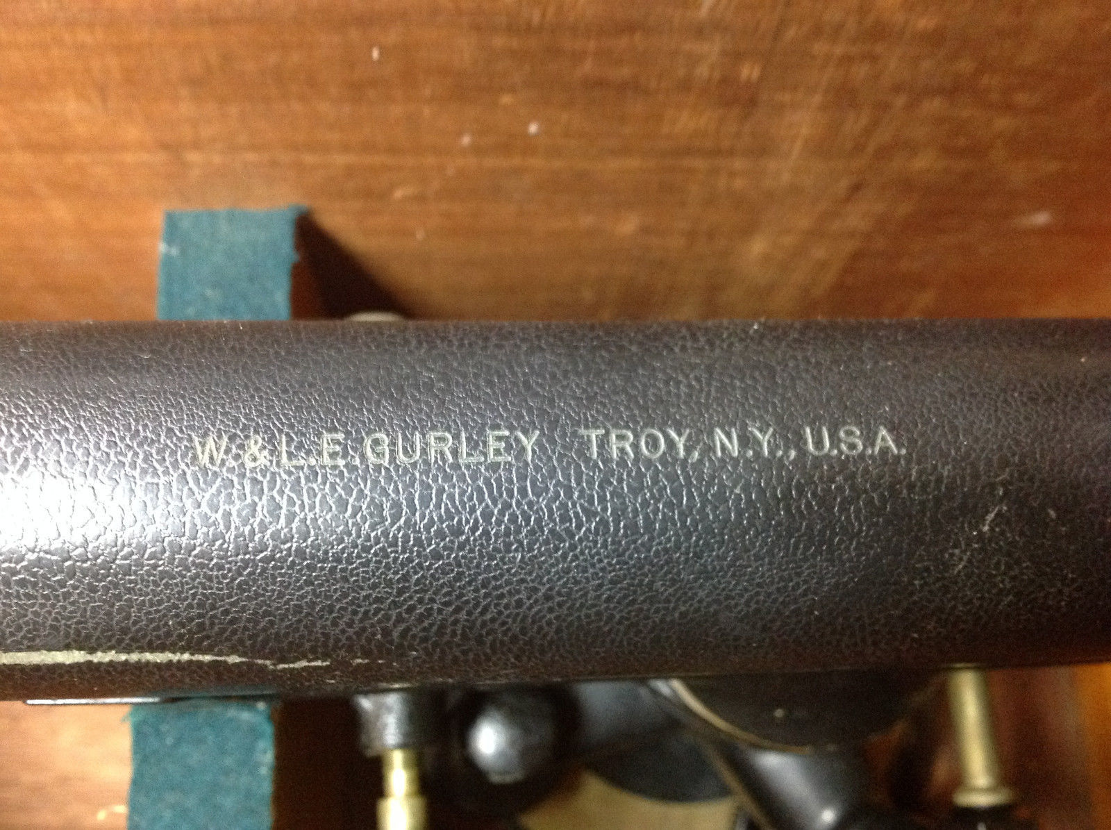 W & L.E. GURLEY TROY NY Level surveyor's transit
