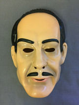 THE ADDAMS FAMILY GOMEZ ADDAMS HALLOWEEN MASK PVC NEW CHILD SIZE - $10.37 CAD