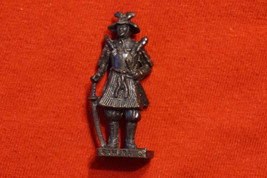 Kinder Egg Surprise Toy Scame Metal Figure Samurai 3 1992 from Poland - $9.81