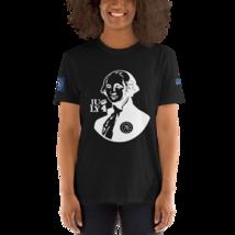 George Washington T-shirt / Betsy Ross T-Shirt / Front, back and sleeves print image 9