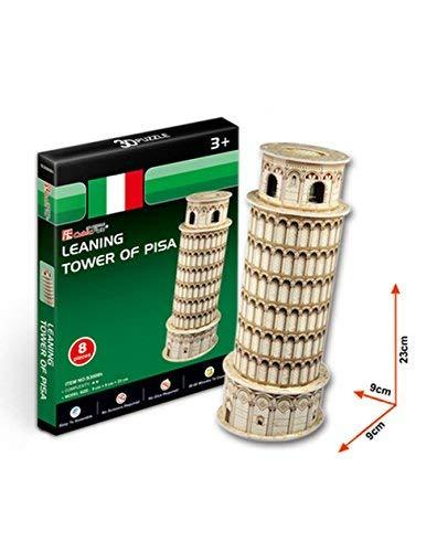 PANDA SUPERSTORE Leaning Tower of Pisa Three-Dimensional Building of Manual Asse