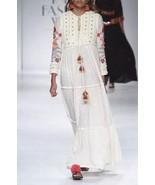 Anthropologie Winsome Maxi Dress Verb by Pallavi Singhee $358 Sz 2 - NWT - $186.99