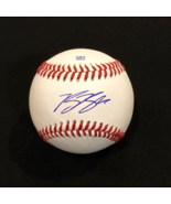RYAN BRAUN AUTOGRAPHED SIGNED O.L. BASEBALL Milwaukee BREWERS w/COA & Ba... - $59.99
