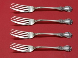 """Old Master by Towle Sterling Silver Fish Fork Set 4pc AS Custom Made 7 1/4"""""""