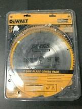 DeWalt DW3128P5 - 12 in. Miter Saw Blade 32-Teeth and 80-Teeth - 2-Pack - $54.99