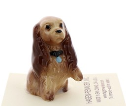 Hagen-Renaker Miniature Ceramic Dog Figurine Don Winton Cocker Spaniel Mama  image 2