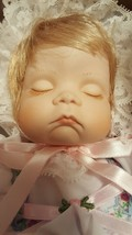 MARIAN YU Vintage Porcelain Sleeping Baby Doll Blanket Limited Edition N... - $49.36