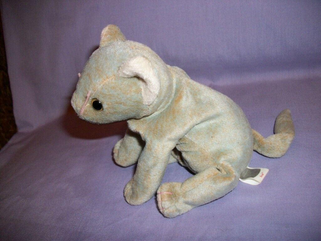 TY Beanie Babies Scat The Cat With Tush Tag Only 1999