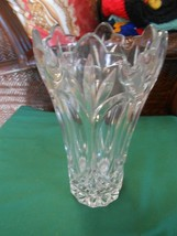 Beautiful Collectible Large Heavy Lead Crystal VASE  - $22.36