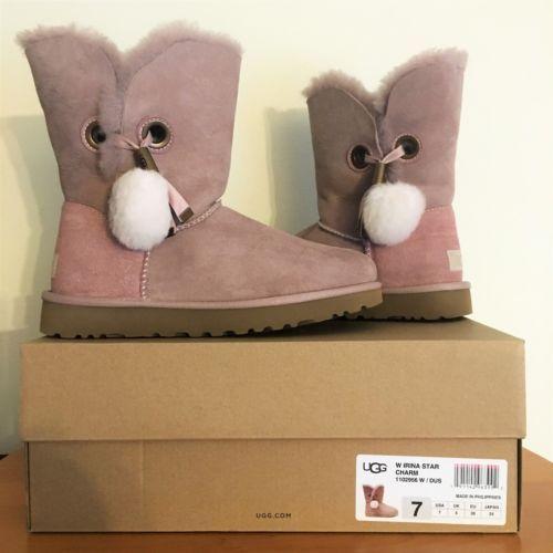 95d05093e1a UGG Irina Pom Pom Star Charm Boots ~ DUSK and 50 similar items