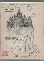 Gen Con IX Dungeons - Dungeons & Dragons - Collectors Edition - SC - 1978. - $30.57