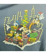 Vintage Walt Disney World Osborne Family  Spectacle Of Lights T Shirt Bl... - $38.69