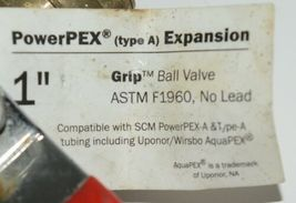Sioux Chief PowerPEX Expansion 648WG4FPPK1 1 Inch Brass Pex Ball Valve image 5