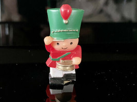 "Vintage 1984 Hallmark Merry Miniature Christmas Drummer Boy 1.50"" Tall - $5.45"