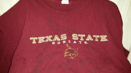 Texas State Bobcats, 100% Cotton Adult 2X-Large Short Sleeve T-shirt - $5.99