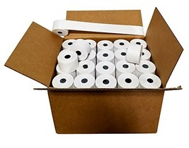 100 ROLLS SHARP ER A-320 330 4100 460 470 44mm 1.75 CASH REGISTER TAPE P... - $55.34