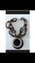 bohemian multi strand pendant necklace - $19.99