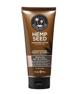 Earthly Body Hand Body Lotion Velvet Skinny Dip 7 oz Tube Hemp Seed Most... - $12.86