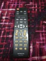 Hitachi CLU-411U TV VCR Cable Remote (NOT TESTED) for 27CX22 27CX22B  - $9.89