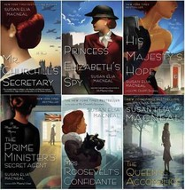 Maggie Hope Mysteries Series Collection Set Books 1-6 by Susan Elia MacNeal - $70.99