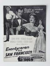 Ronald Reagan Rhonda Fleming Vtg Tennessee's Partner 1955 Danish Movie P... - $26.68