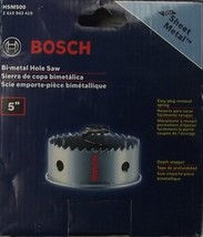 "Bosch HSM500 5"" 127mm Sheet Metal Bimetal Hole Saw - $11.88"