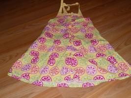 Girls Size 5 Gymboree Citrus Cooler Fruit Slices Yellow Sundress Sun Dre... - $15.00