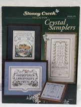 """Stormy Creek Collection #119 """"Crystal Samplers"""" Cross Stitch Pattern 199... - $8.91"""