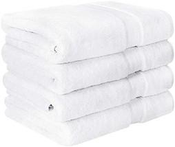 Utopia Towels Premium Bath Towels Pack of 4, 27 x 54 100% Ring-Spun Cott... - $45.68