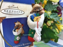 Hallmark Mischievous Kittens ornament 2003 - $24.75