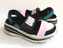 UGG FASHION BABY SLINGBACK RUNNER BLACK PLATFORM SNEAKER SHOE US 7 / EU ... - $120.62