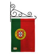 Portugal Burlap - Impressions Decorative Metal Fansy Wall Bracket Garden... - $33.97