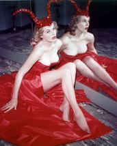 Anita Ekberg very busty in red dress 16x20 Poster - $19.99