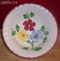 """BLUE RIDGE SOUTHERN POTTERY-- ALLEGHANY VEGETABLE BOWL  9 3/8"""" X 2 3/8"""" - $27.45"""