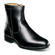 Florsheim Midtown Waterproof Plain Toe Boot Mens Black Leather zipper 12... - $122.50+
